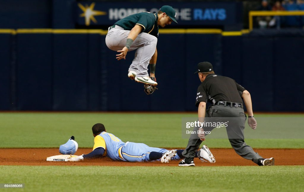Oakland Athletics v Tampa Bay Rays - Game One