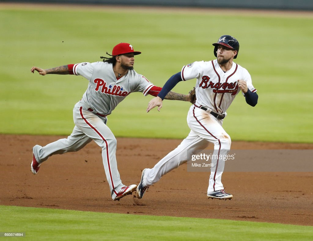 Philadelphia Phillies v Atlanta Braves