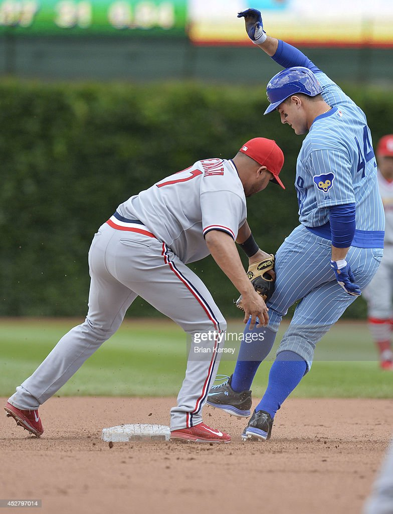 St. Louis Cardinals v Chicago Cubs : News Photo