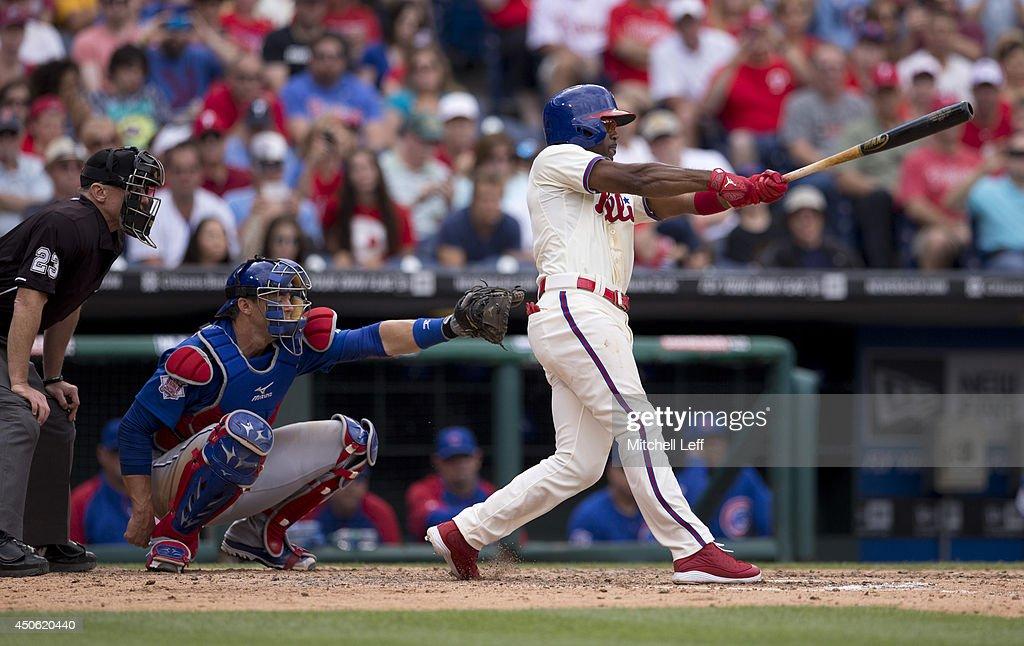 Chicago Cubs v Philadelphia Phillies : News Photo