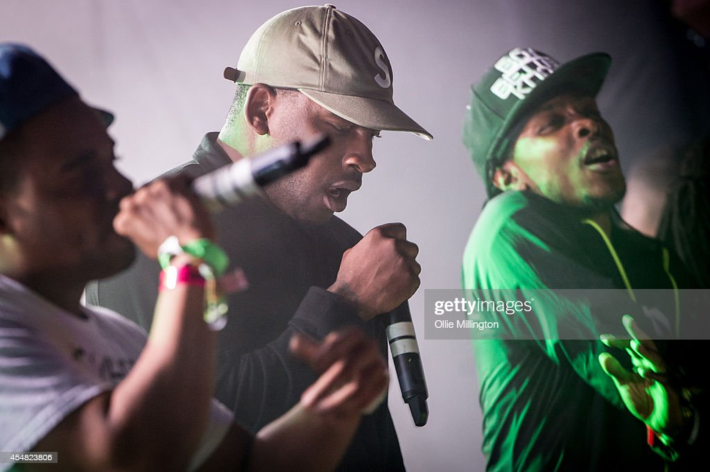 Shorty, Skepta and JME perform onstage on Day 3 of Bestival