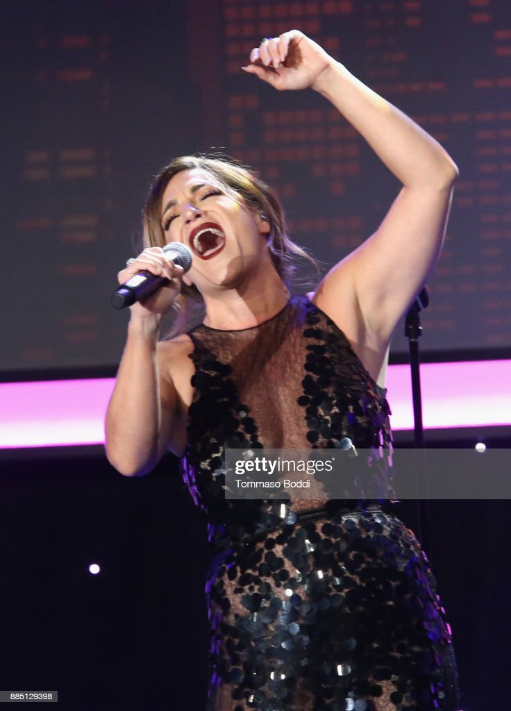 Shoshana Bean performs onstage during The Trevor Project's 2017 TrevorLIVE LA Gala at The Beverly Hilton Hotel on December 3, 2017 in Beverly Hills, California.