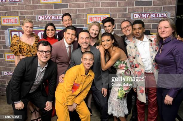 Shoshana Bush, Netflix Director Original Series Andy Weil, Jessica Marie Garcia, Danny Ramirez, Julio Macias, Jason Genao, Lauren Iungerich, Eddie...