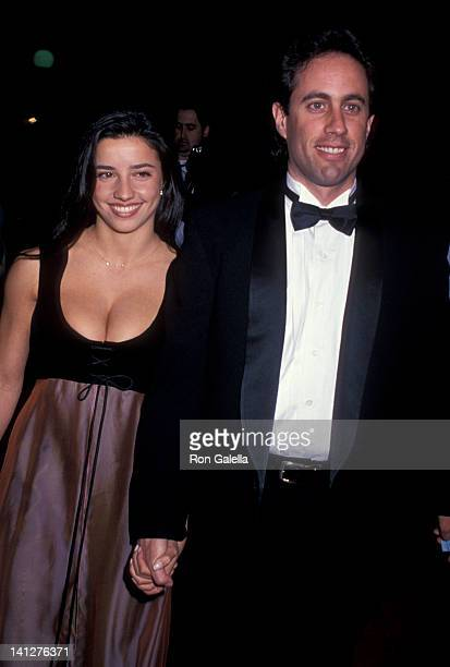 Shoshanna Lonstein and Jerry Seinfeld at the 1st Annual Screen Actors Guild of America Awards Universal Studios Universal City