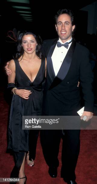 Shoshanna Lonstein and Jerry Seinfeld at the 2nd Annual Screen Actors Guild of America Awards Santa Monica Civic Auditorium Santa Monica