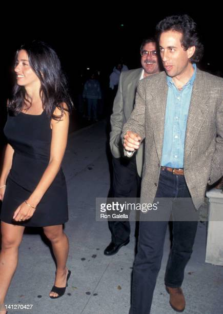 Shoshanna Lonstein and Jerry Seinfeld at the Opening Night of 'Jackie MasonPolitically Incorrect' Cannon Theater Beverly Hills