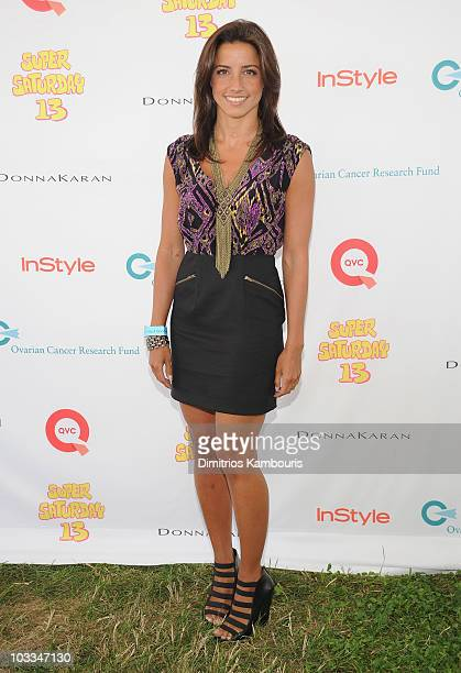 Shoshanna Lonstein attends Super Saturday 13 to Benefit Ovarian Cancer Research Fund hosted by InStyle Magazine at Nova's Ark Project on July 31 2010...