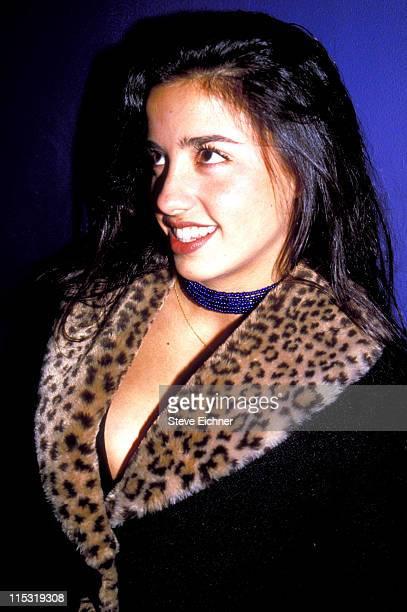 Shoshanna Lonstein during Shoshanna Lonstein at Club USA 1994 at Club USA in New York City New York United States