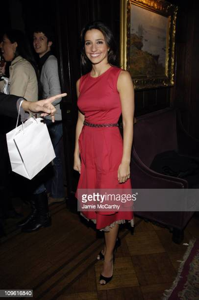 Shoshanna Lonstein Gruss during Olympus Fashion Week Fall 2006 Charlotte Ronson Party Backstage at The National Arts Club in New York City New York...