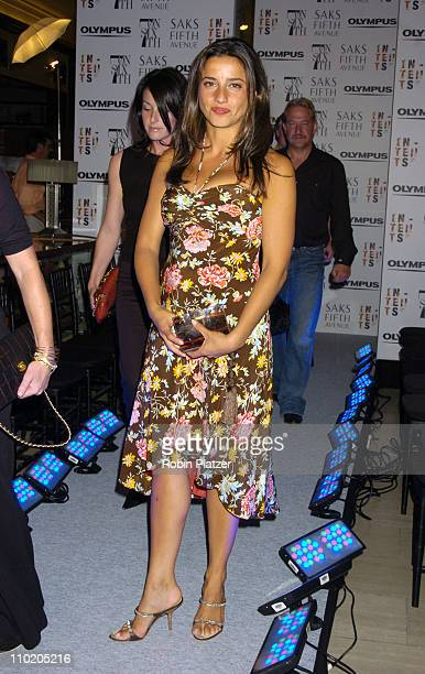 Shoshanna Lonstein Gruss during Olympus Fashion Week Spring 2005 SAKS Kickoff Party for 'Intents' at Saks Fifth Avenue in New York City New York...