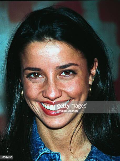 Shoshanna Lonstein one time girlfriend of comedian Jerry Seinfeld attends a press event for the winners of Warner Brothers television show Popstar...