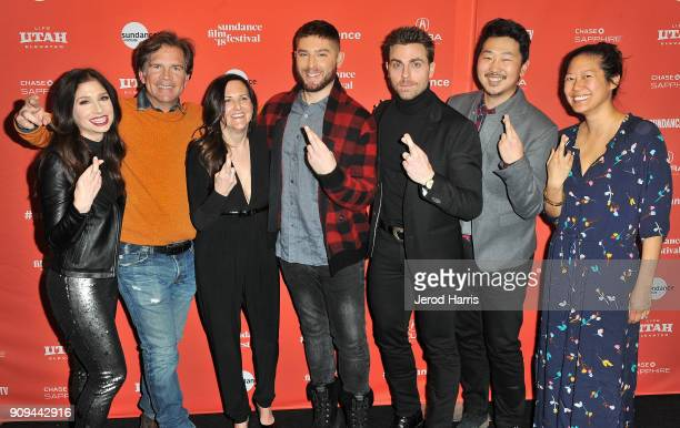 Shoshannah Stern Paul Young Mary Pat Bentel Josh Feldman Colt Prattes Andrew Ahn and Winnie Kemp attend the Indie Episodic Program 2 during the 2018...