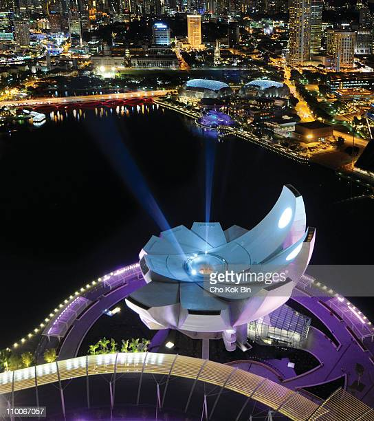 Shot from Sands SkyPark Taken during the laser show
