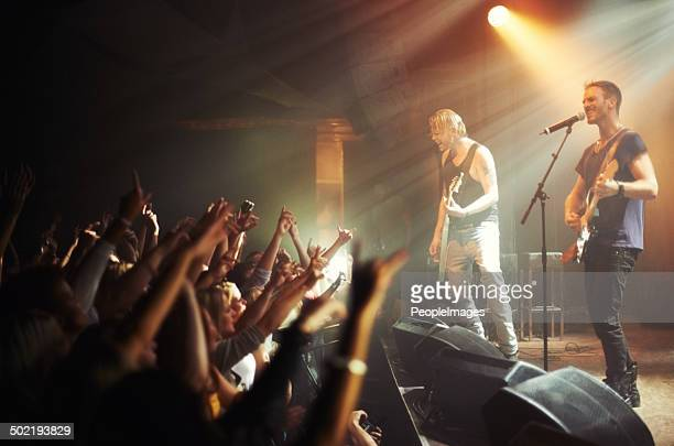 it's all about the fans - concert hall stock pictures, royalty-free photos & images