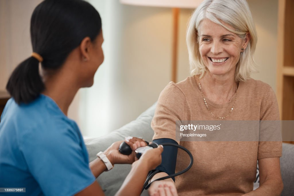 Doctor work consulting and examining patient woman or sick