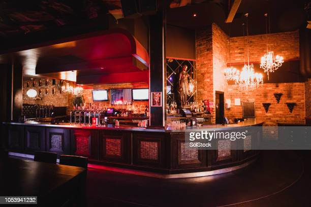 shot of a nightclub with no one inside - pub stock pictures, royalty-free photos & images