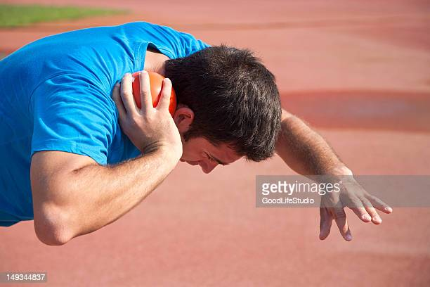 shot putter - shot put stock pictures, royalty-free photos & images