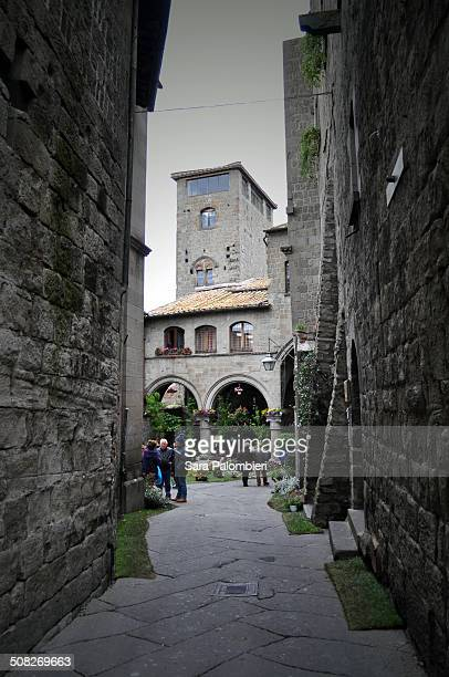 Shot taken in the medieval area of Viterbo,in a nice Sunday morning.