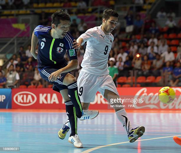 Shota Hoshi of Japan scores a goal during the FIFA Futsal World Cup Group C  match a64ee1f4525d8