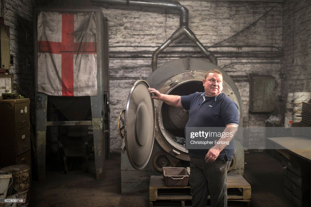 Traditional Black Country Foundry At Work