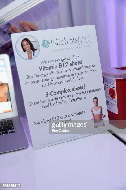 B12 shots administered during the Greenwich International Film Festival Opening Night Party on June 2 2017 in Greenwich Connecticut