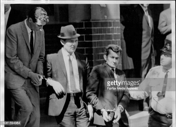 Shotting of Helen Gertrude Paunovic at King's Cross on December 29 1967Three men charged with slaying the woman Alan Stanley Dillon Fred Harold...