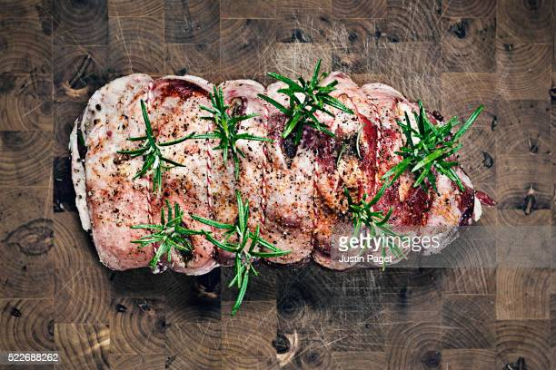 Shoulder of Lamb with Rosemary and Garlic