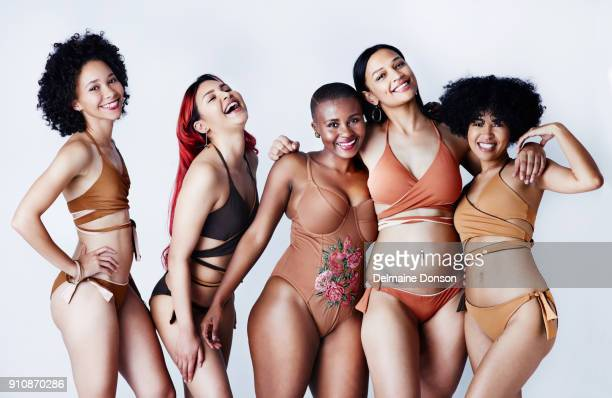 shout out to all the women embracing their differences - human body stock photos and pictures