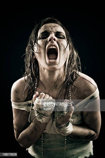 Shouting With Pain