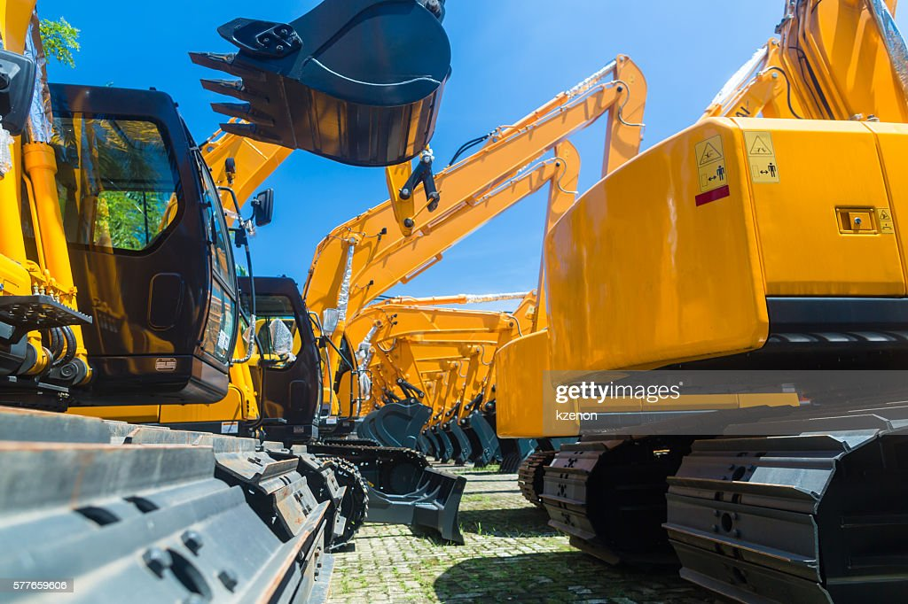 Image result for Construction Machine Rental istock