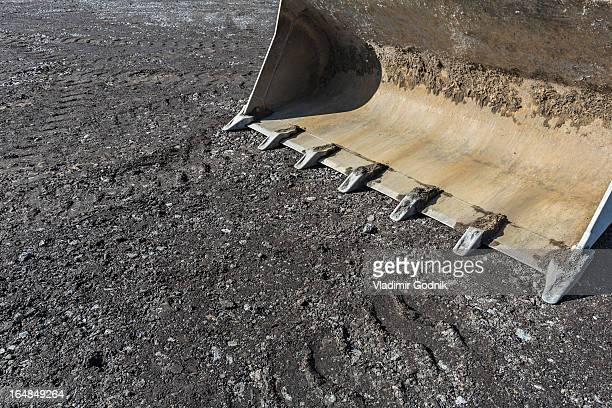 Shovel of mechanical digger