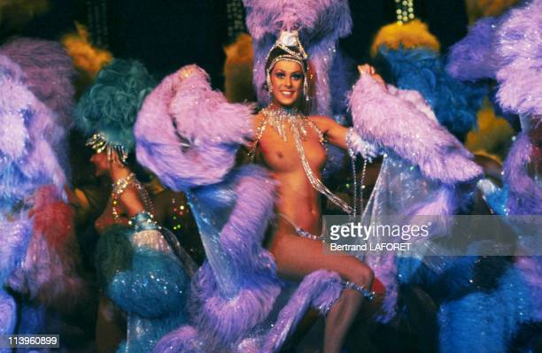 Show at Moulin Rouge Cabaret In France On March 10 1983 'Femmes Femmes Femmes' new show at Moulin Rouge cabaret March 10 1983