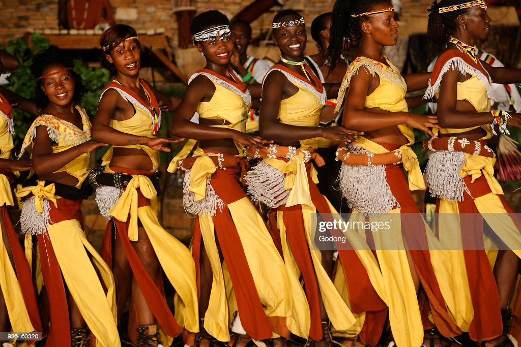 Show at Ndere cultural center : News Photo