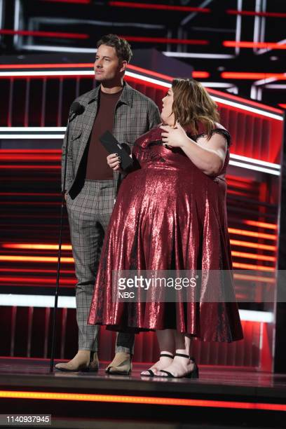AWARDS Show Backstage 2019 BBMA at the MGM Grand Las Vegas Nevada Pictured Justin Hartley and Chrissy Metz