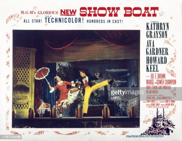 Show Boat lobbycard Marge Champion Gower Champion 1951