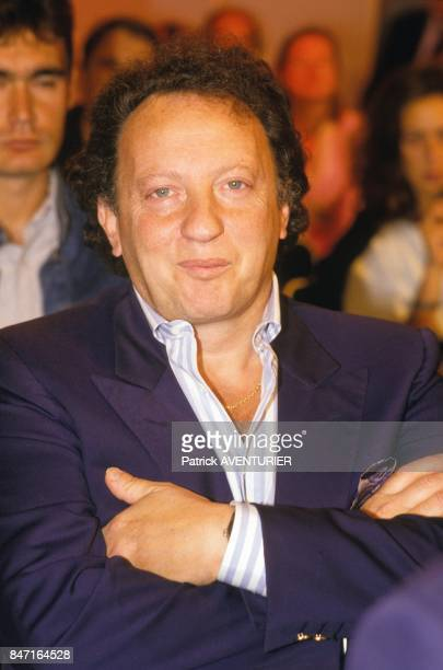 Show business producer Paul Lederman on September 2 1987 in Paris France
