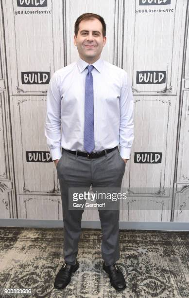 Show cocreator and actorJake Weisman visits Build Series to discuss the series 'Corporate' at Build Studio on January 11 2018 in New York City