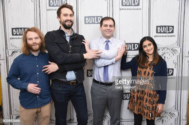 Show cocreator and director Pat Bishop cocreators and actors Matt Ingebretson Jake Weisman and actress Aparna Nancherla visit Build Series to discuss...
