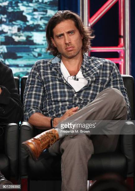 Show cocreator/writer/executive producer Brad Falchuk of the television show 911 speaks onstage during the FOX portion of the 2018 Winter Television...