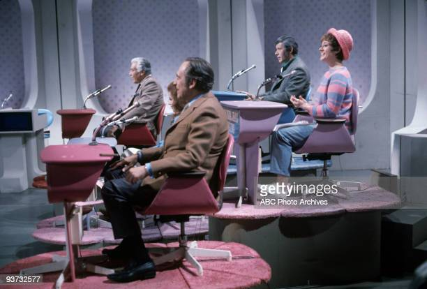 ASK Show Coverage 11/27/68 Cesar Romero Abbe Lane Louis Nye Jan Murray Donna Jean Young on the Walt Disney Television via Getty Images Television...