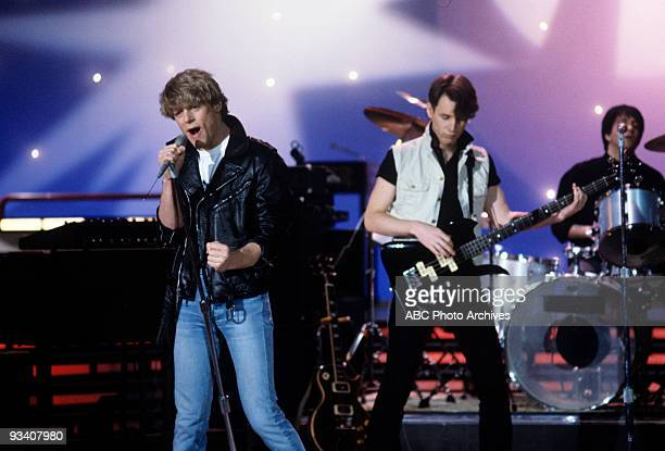 BANDSTAND Show Coverage 3/22/83 Brian Adams and Group on the ABC Television Network dance show 'American Bandstand'