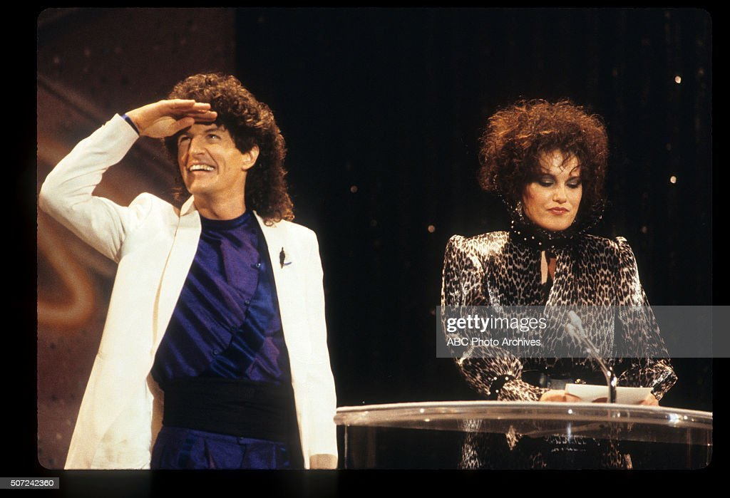 January 28, 1985. PRESENTERS KEVIN CRONIN (REO SPEEDWAGON) AND