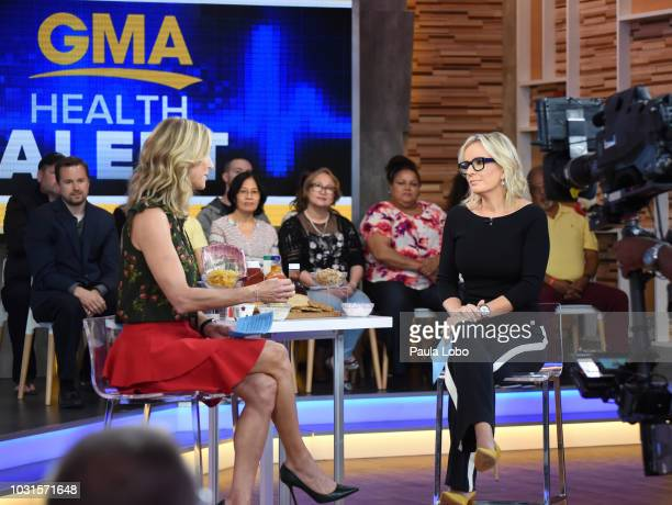 AMERICA Show coverage of Good Morning America on Tuesday September 11 2018 airing on the Walt Disney Television via Getty Images Television Network...