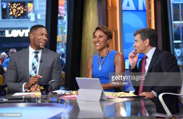 AMERICA Show coverage of Good Morning America on Tuesday September 4 2018 airing on the Walt Disney Television via Getty Images Television Network...
