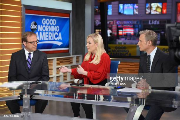 AMERICA Show coverage of Good Morning America Wednesday January 24 airing on the Walt Disney Television via Getty Images Television Network JONATHAN