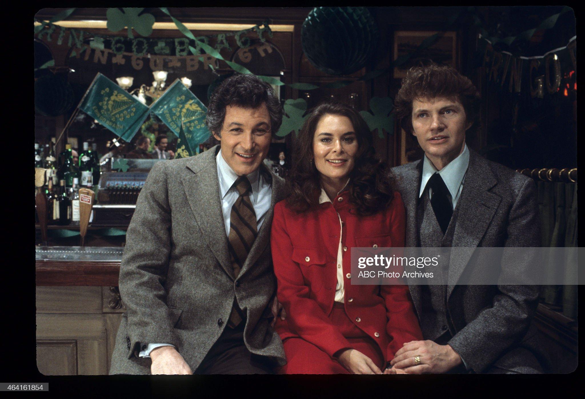 L-R: JOHN GABRIEL;NANCY ADDISON;ANDREW ROBINSON : News Photo