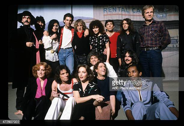 FRIDAYS Show Coverage with Jefferson Starship Shoot Date April 3 1981 DON NOVELLO MICKEY THOMASGRACE SLICKMICHAEL RICHARDSPAUL KANTNERMARYEDITH...