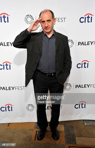 Show Creator Armando Iannucci arrives at The Paley Center For Media's PaleyFest 2014 Honoring 'Veep' at Dolby Theatre on March 27 2014 in Hollywood...
