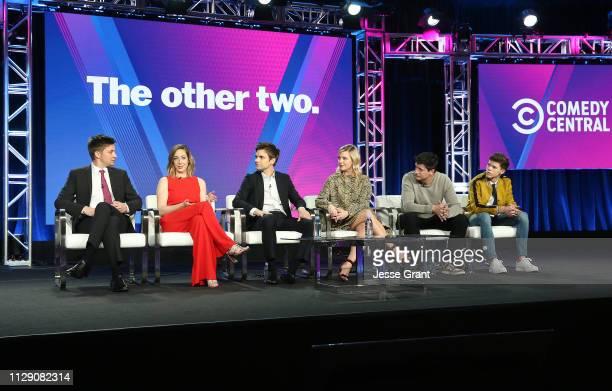 Show creator Chris Kelly show creator Sarah Schneider Drew Tarver Helene York Ken Marino and Case Walker attend the Viacom Winter TCA 2019 panel on...