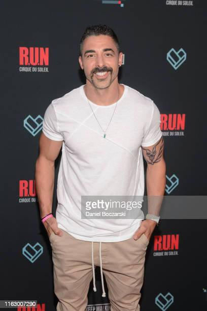 N show director Michael Schwandt attends the Fandom Party at SDCC 2019 featuring RUN the first liveaction thriller by Cirque du Soleil at Float at...
